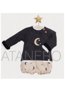 C. pololos y jersey luna y estrellasPilar Batanero